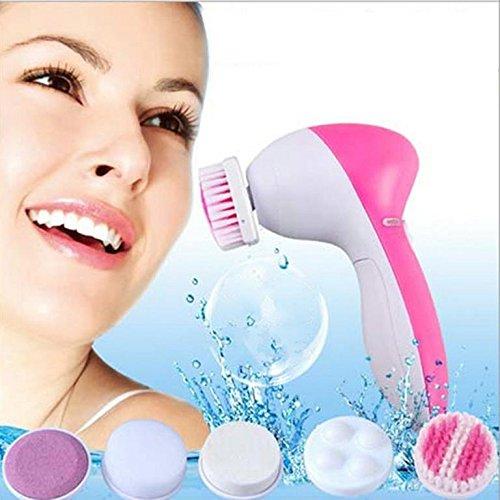 Dabhi Face Massager, Facial Scrubber Skin Care 5 in 1