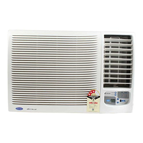 Carrier 1.5 Ton 3 Star Window AC (Copper , ESTRELLA PRO , White)