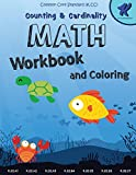 """Math Workbook Kindergarten: Counting and Cardinaliry, Common Core Math Kindergarten, 8.5""""x11"""" sized, 102 Pages, Matte Cover Designed"""