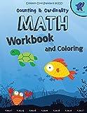 Math Workbook Kindergarten: Counting and Cardinaliry, Common Core Math Kindergarten, 8.5