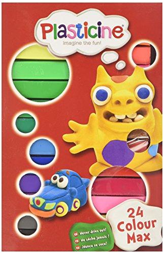 Plasticine Colour Max (24-Piece)
