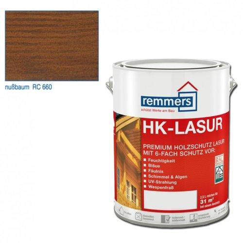 Remmers HK-Lasur - nußbaum 10ltr