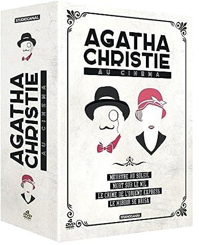 Agatha Christie - Coffret - Le miroir se brisa + Meurtre au soleil + Mort sur le Nil + Le crime de l'Orient Express