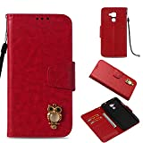 COZY HUT Huawei Honor 5C Case, PU Leather Wallet Case for