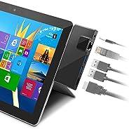 Rocketek Surface Go Docking Station, USB C Hub HDMI Adapter 5 in 1 Type C Hub with 1000M RJ45 Ethernet, 4K USB
