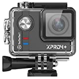 TecTecTec XPRO4+ Camera digitale Sport 4K Ultra HD Action Cam 4K WIFI Sport Camera Impermeabile Grandangolare