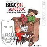 Piano Kids Songbook inkl. praktischer Notenklammer - 50 Lieder & Songs, die Spaß machen von AMAZING GRACE über SCHNAPPI bis zu ANGELS von Robbie Williams (Taschenbuch) von Hans-Günter Heumann (Noten/Sheetmusic)