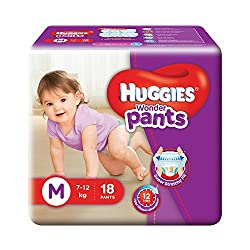 Huggies Wonder Pants Diapers Medium (18 Count)