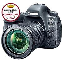 Canon EOS 6D Mark II 24-105mm Fotoğraf Makinesi, Full HD (1080p), Siyah