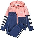 adidas LG ESS HD PES T - Traininganzug - Junge, Pink/Blau, 98
