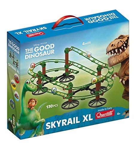 Quercetti 6425 - Murmelbahn The Good Dinosaur, Spiele und Puzzles, 126-teilig