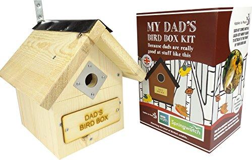 Bird Box, Bird Kit? Grabado láser gedenktafel? My Dad 's bird Box Kit'? Fantástica Padres Día regalo, Solo puede 2016