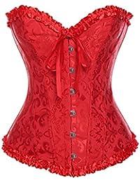 c71bdc9703d9db Suchergebnis auf Amazon.de für: corsage rot - Satin: Bekleidung