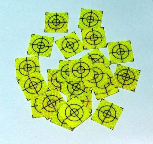 Reflex Zielmarken 20x20 mm selbstklebend, 100 Stück (grün)