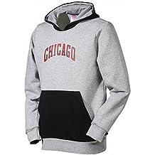 Y FNWR Hoody GRY – Felpa Basket Chicago Bulls ragazzo adidas 2389bee050ee
