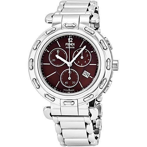 Fendi Women's 40mm Steel Bracelet & Case Swiss Quartz Watch F89032H.BR8653