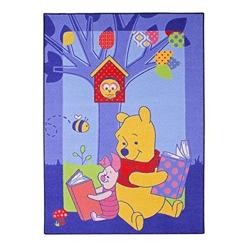 Associated Weavers - Alfombra para niños (95 x 133 cm), diseño con Winnie the Pooh