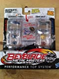 Beyblade Metal Masters 2-Pack Lightning L-Drago & Earth Wolf 39456