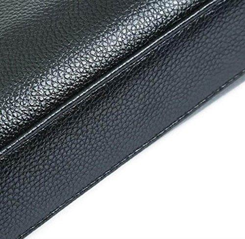 Esposizione Di Business Borsa A Tracolla Messenger Bag Laptop Laptop Valigetta PU Insurance Industry Brown2