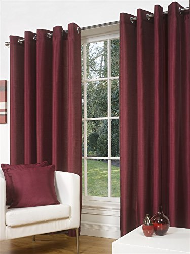 luxury-faux-silk-slubbed-wine-eyelet-fully-lined-ready-made-curtains-pair-66x72in-167x183cm