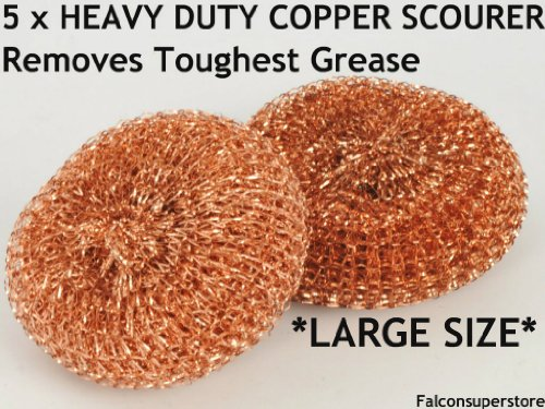 5-x-heavy-dutymetal-copper-scourers-large-free-uk-post-tough-grease-copper-scrubber-metal-scouring-p