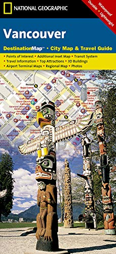 Vancouver (National Geographic Destination City Map) por National Geographic Maps