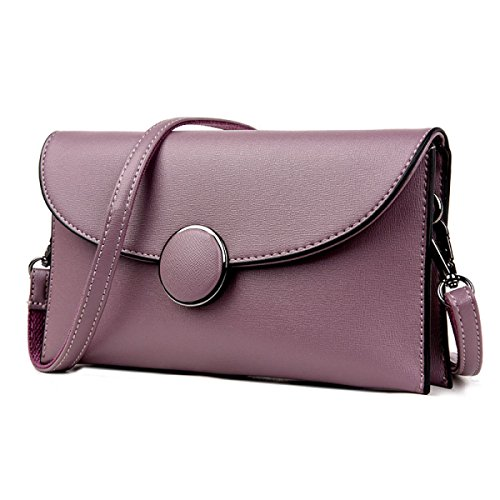Moda Borse Da Busta Borsa A Tracolla Borsa A Mano Semplice Purple