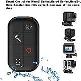 COOSA Wifi télécommande intelligente étanche Smart Remote portée pour GoPro HERO5, HERO4, HERO3+ et HERO3