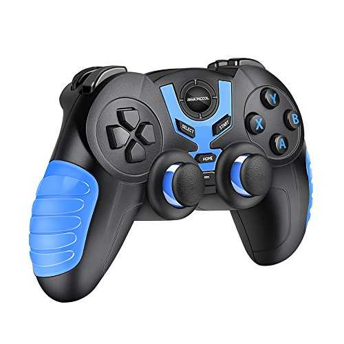 Android Bluetooth Game Controller, BEBONCOOL Bluetooth Gamepad, Wireless Phone Controller For Android Phone / Tablet / TV Box / Gear VR Controller / Emulator