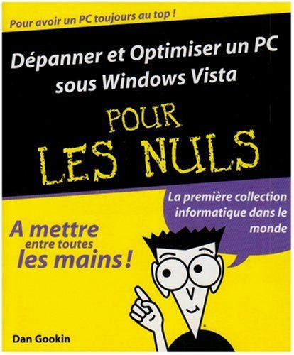 DEPANN PC SS WINDOWS VIST NULS par DAN GOOKIN