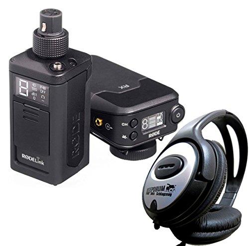 Rode rodelink News Shooter Kit de audio Radio recorrido para micrófonos XLR + Auriculares Keepdrum