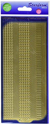 Elizabeth Craft Designs Grenzen ASSORTI Peel Off Aufkleber 10,2x 22,9cm - Grenze Peel