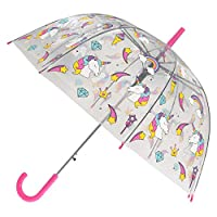X-brella Womens/Ladies Rainbow Unicorn Automatic Dome Umbrella
