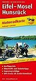 Eifel - Mosel - Hunsrück: Motorradkarte mit Ausflugszielen, Einkehr- & Freizeittipps und...