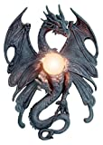 Drachenlampe - The Dragon Fly - Wandlampe Gothic Drache