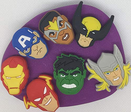 Marvel Superhelden-Silikonform Backen Cupcake Silikon Thor Hulk Captain America -