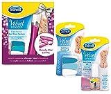 Scholl Velvet Smooth Nagelpflege-Set Sparpack mit 3 Artikeln