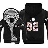 Kpop BTS Hoodie Bangtan Garçons Sweaters JIN JIMIN SUGA Rap-Monster Longue Manche Pullover Jackets En Automne et Hiver