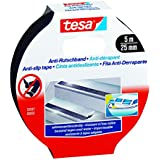 Tesa 55587-00002 - Rollo Cinta Antideslizante 5X25 Negra