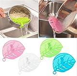 VWH Durable Reis waschen Sieve Bohnen Erbsen Reinigung Gadget Küche Clips Werkzeuge (blau)