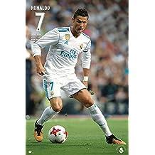 Póster Real Madrid - Cristiano Ronaldo N° 7 [Temporada 2017/2018] (61cm x 91,5cm)