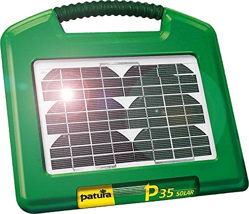 *P35 Solar, Weidezaun-Gerät, integriertes Solarmodul 2,6 W und Gelakku 12 V/7 Ah – 140400*