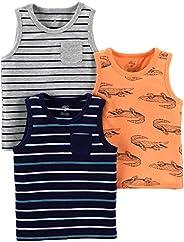 Simple Joys by Carter's 3-Pack Tank Tops Niños, Pack