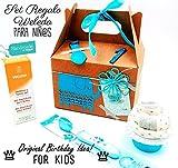'Birthday Box' WELEDA | Para Niños de 1 año-4 años | Ideal para Cumpleaños | PERSONALIZALO: Añade Productos Weleda, Accesorios PREMIUM, Nombre y Años del Niño