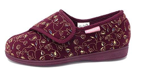 Dunlop , Chaussons pour femme Rouge - Bordeau