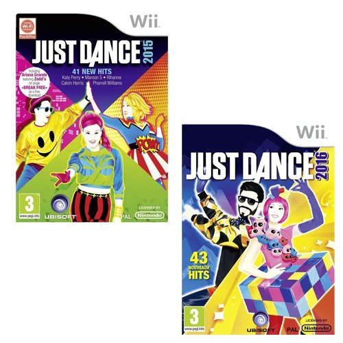 Just Dance 2015 + Just Dance 2016