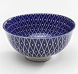Kare Schale Blue Ora 12 cm, aus Porzellan, spülmaschinenfest und mikrowellengeeignet, Maße (Ø x Höhe): 12 x 6 cm, Dessertschale, Müslischale oder Deko-Schale