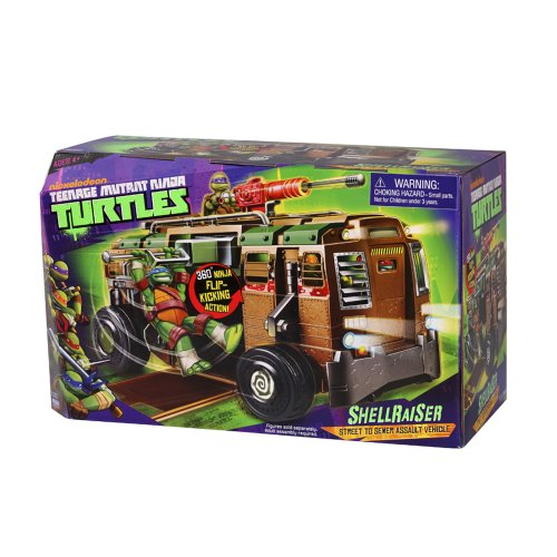 Teenage Mutant Ninja Turtles 14094011 - Shellraiser ohne (Turtles Ninja Spielzeug)