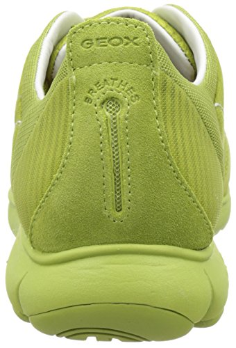 Geox U Nebula F, Sneakers Basses Homme Vert (Lime Greenc3015)