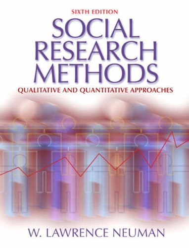 Social Research Methods: Qualitative and Quantitative Approaches: International Edition: Quantitative and Qualitative Approaches